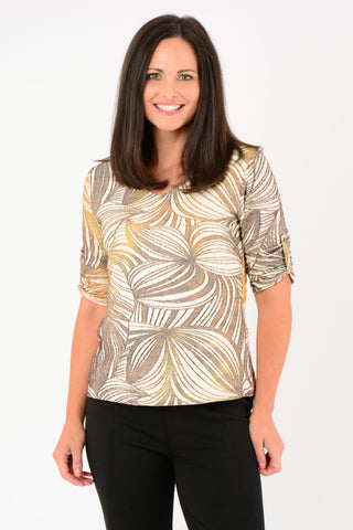 Abstract Blur Top