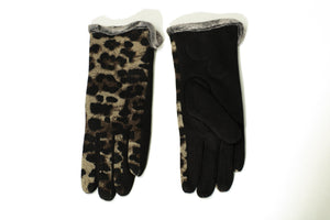 Leopard Gloves-Accessories-Paco