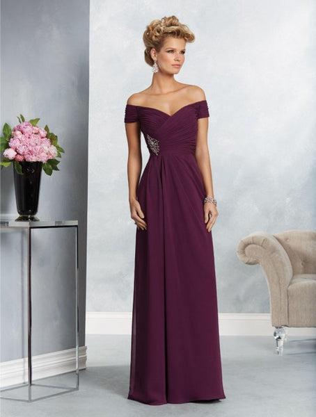 Alfred Angelo 9062 Mahogany Size 10 and Eggplant Size 16 Only