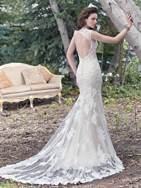 Maggie Sottero Style Collins 6MT266 Size 18 Ivory Light Gold only