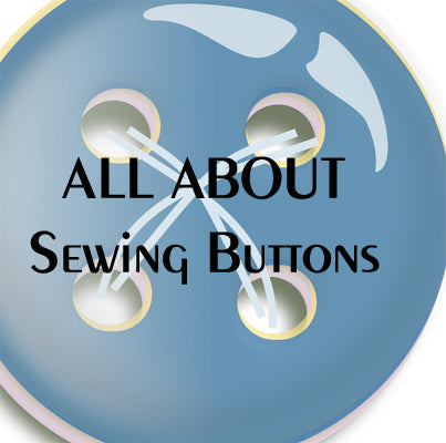 A video about fashion buttons: types of sewing buttons, button sizes, how to measure buttons