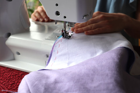 relaxing sewing hobby