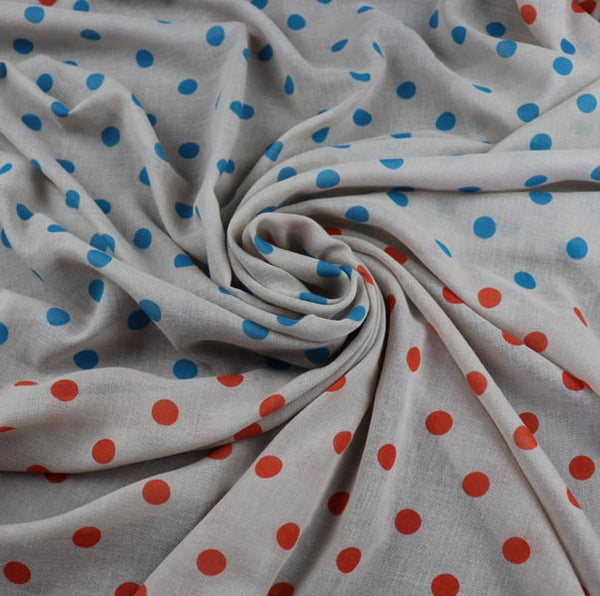 cotton fabric drapes well