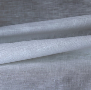 White handkerchief linen fabric from Ireland