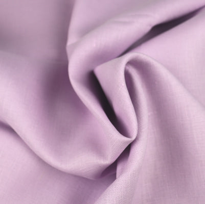 lavender linen fabric medium weight