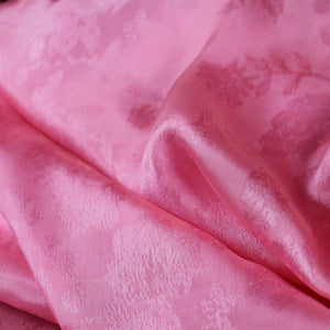 light pink silk fabric