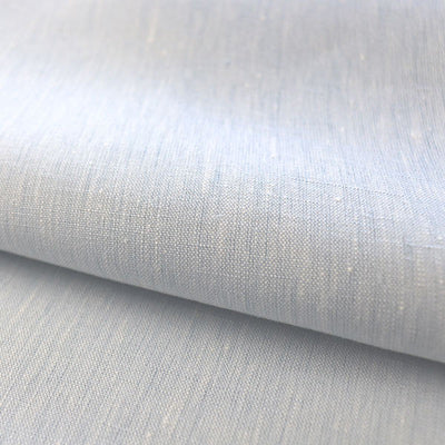 light blue linen fabric from Belgium
