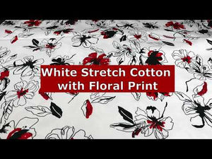 YouTube video about cotton stretch fabric