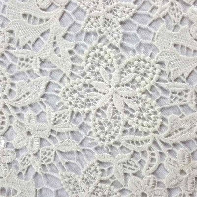 guipure lace fabric for dressmaking