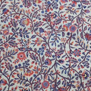 printed cotton fabric for dressmaking