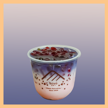 Load image into Gallery viewer, Anchan Strawberry Latte with Rainbow bubble