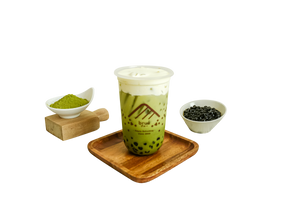 Matcha Green Tea Cheese Machiato
