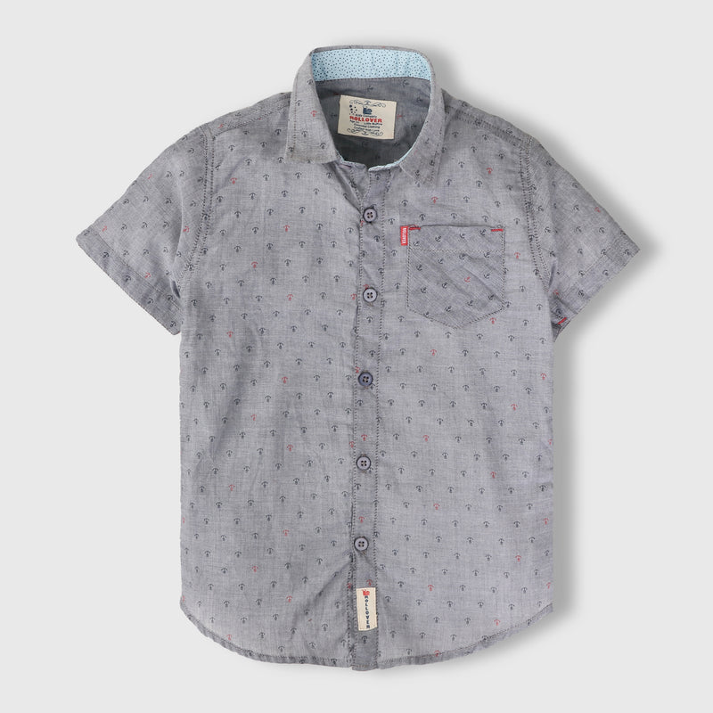 Grey Anchor Shirt
