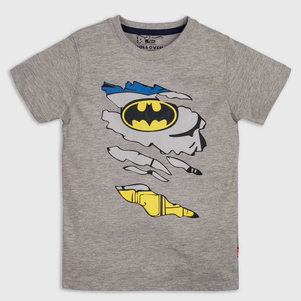 Light Grey Batman T Shirt