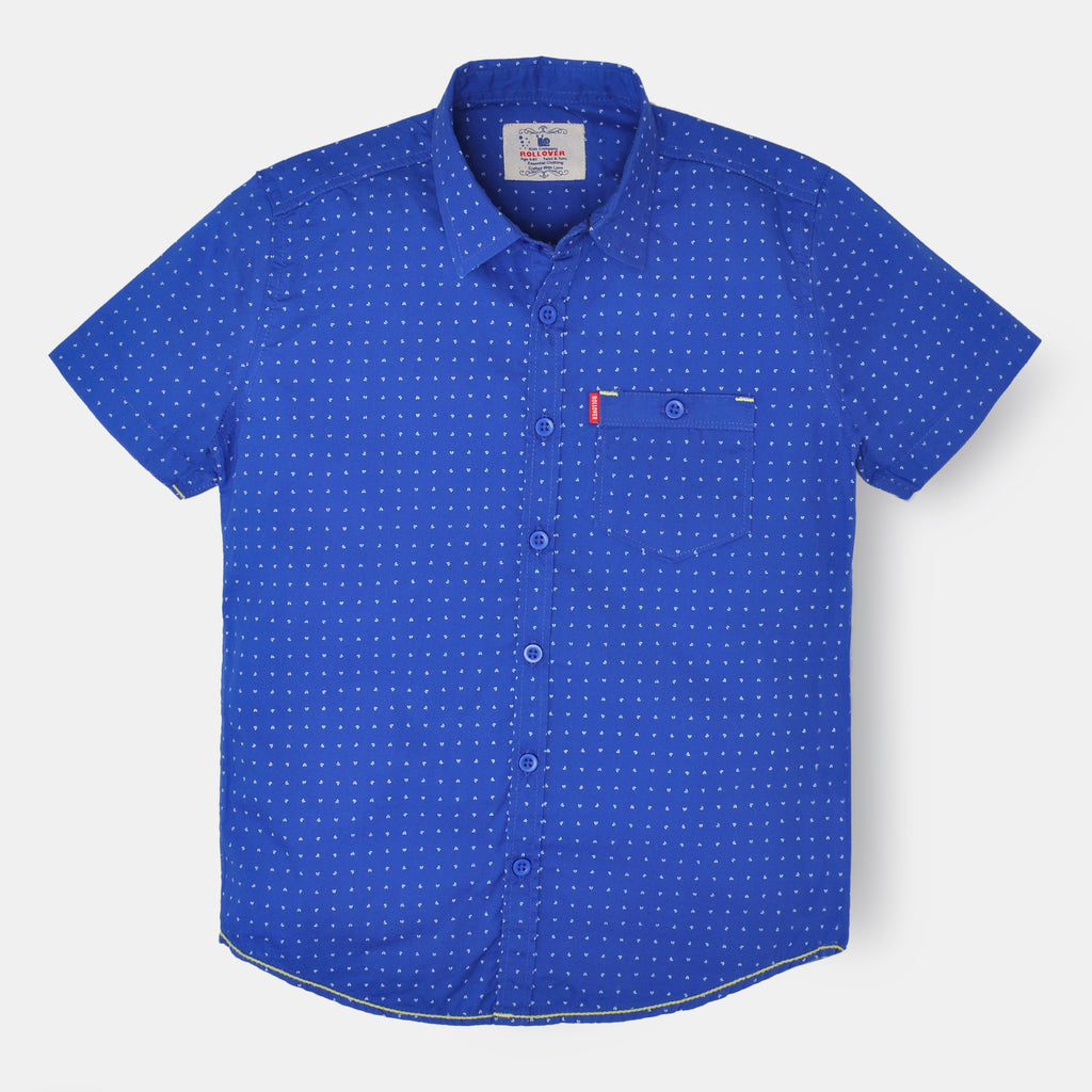 Zaffre Blue Shirt