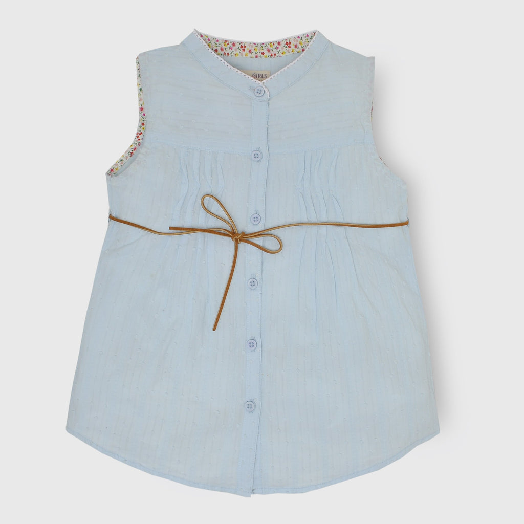 Sky Blue Girl Top