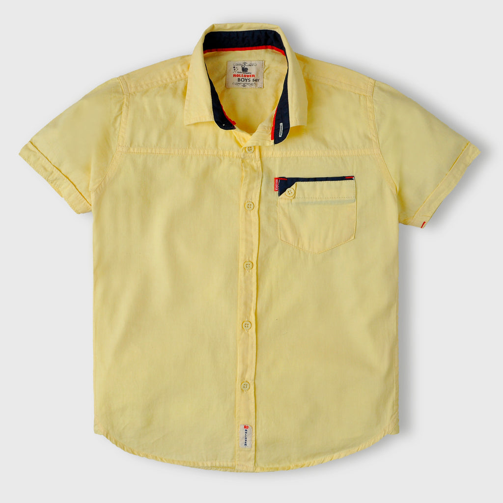 Pastel Yellow Shirt