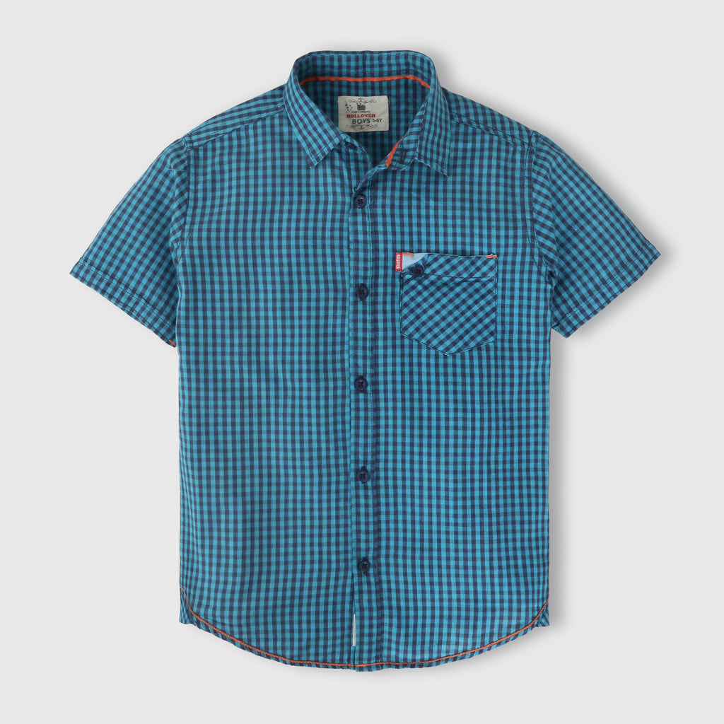 Blue Gingham Shirt