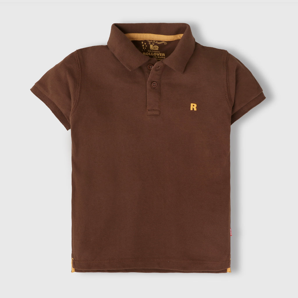 Pecan Brown Polo