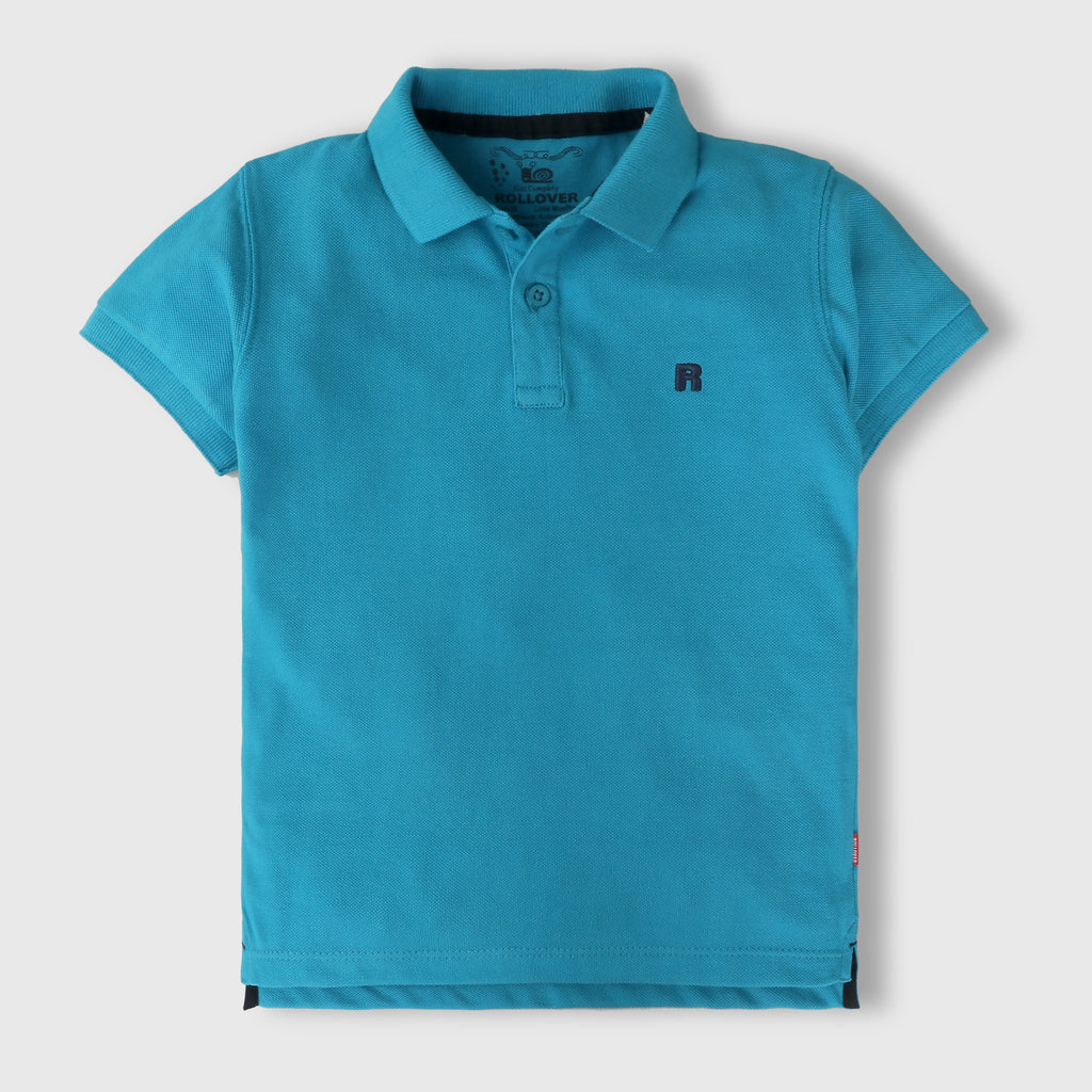 Azure Blue Polo