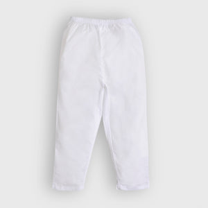 Boys White Trouser