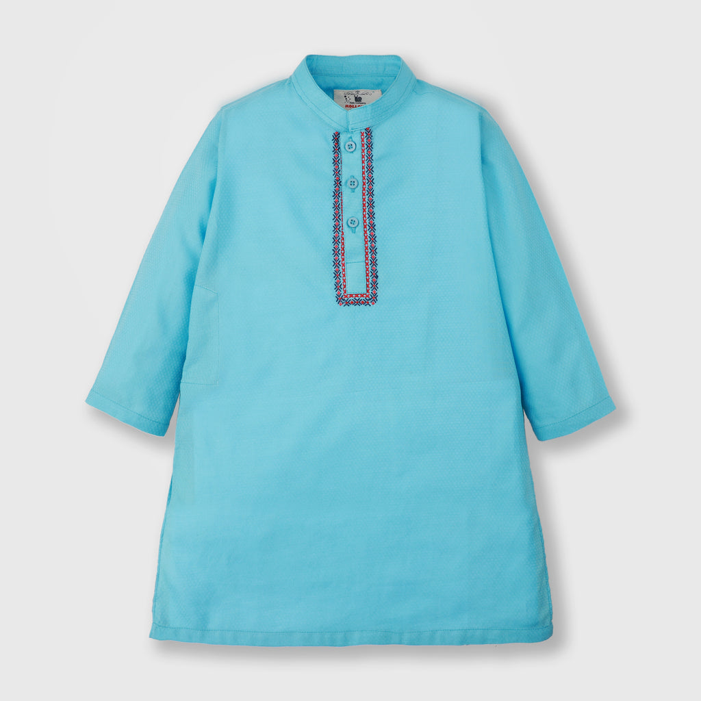 Pool Blue Kurta