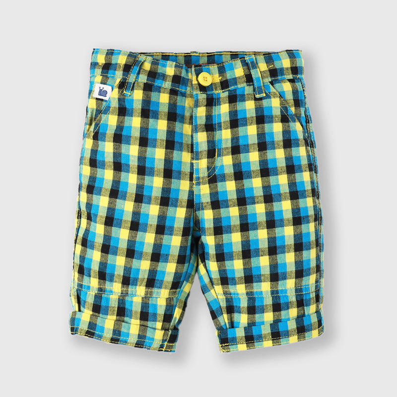Checker Chino Shorts