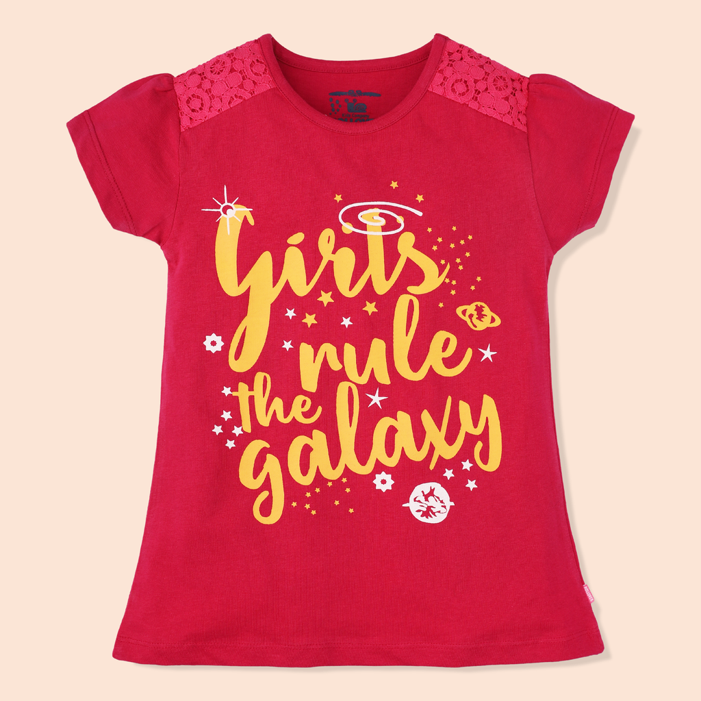 Girls Galaxy T-Shirt