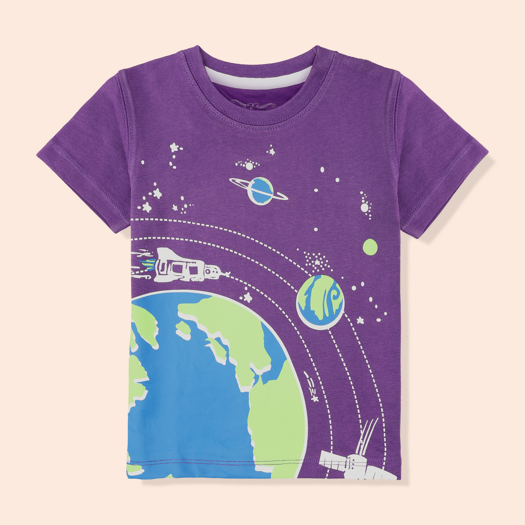 Purple Space T-Shirt
