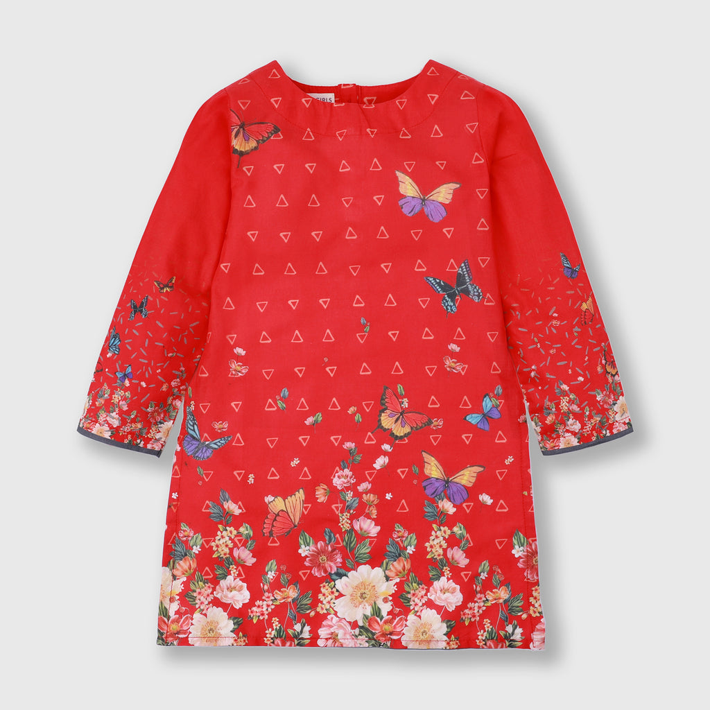Red Butterfly Shirt