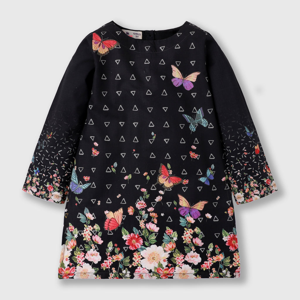 Black Butterfly Shirt