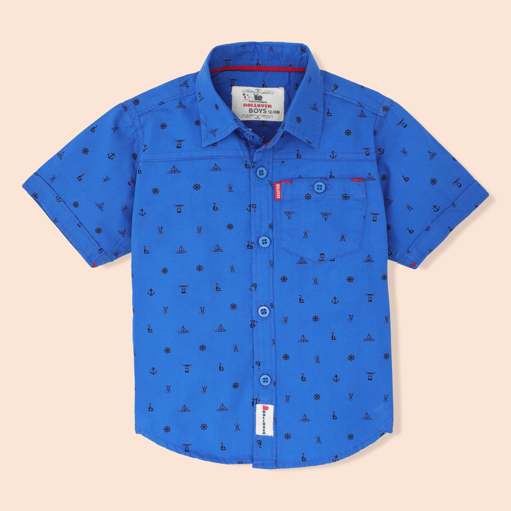 Lapis Printed Shirt