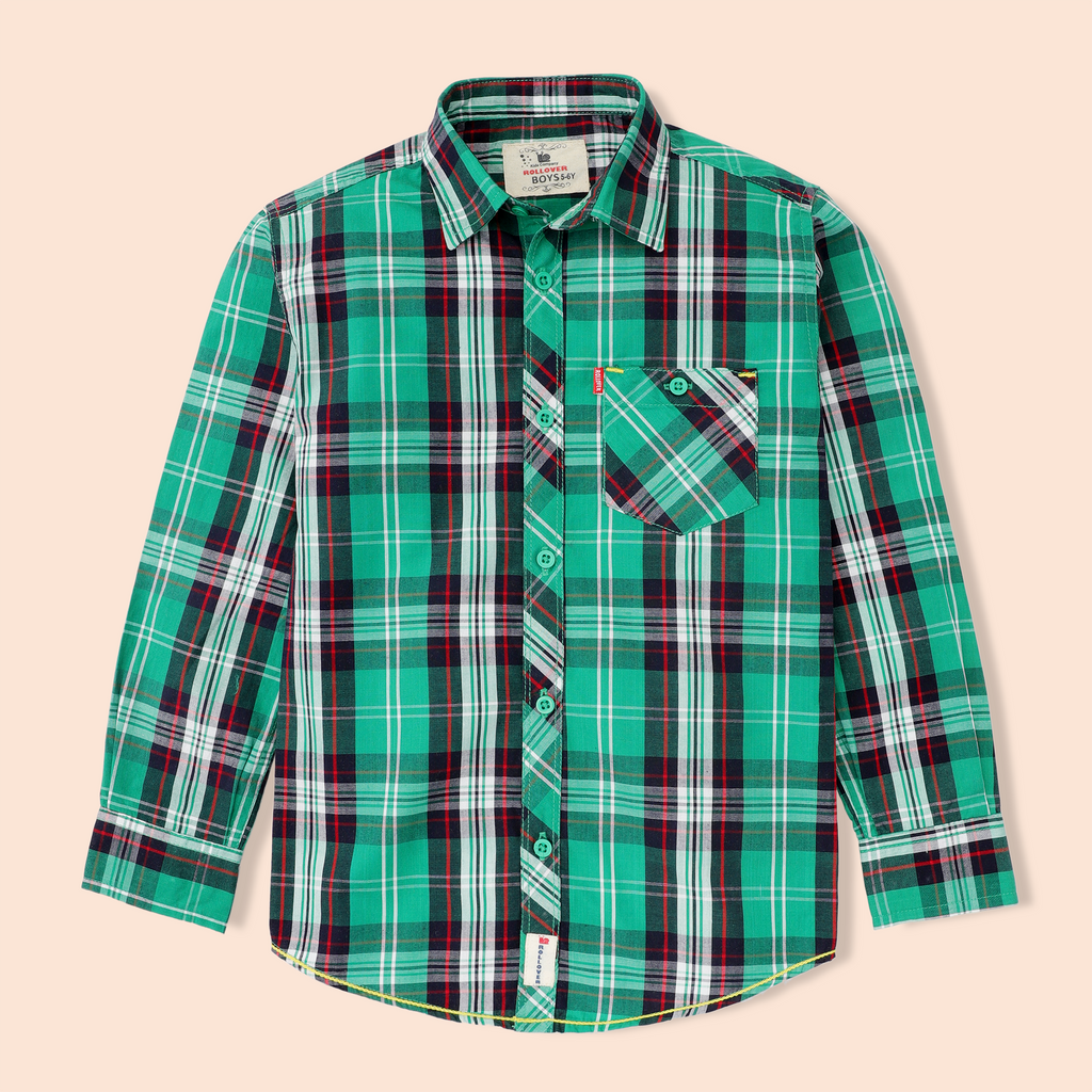 Jade Check Shirt