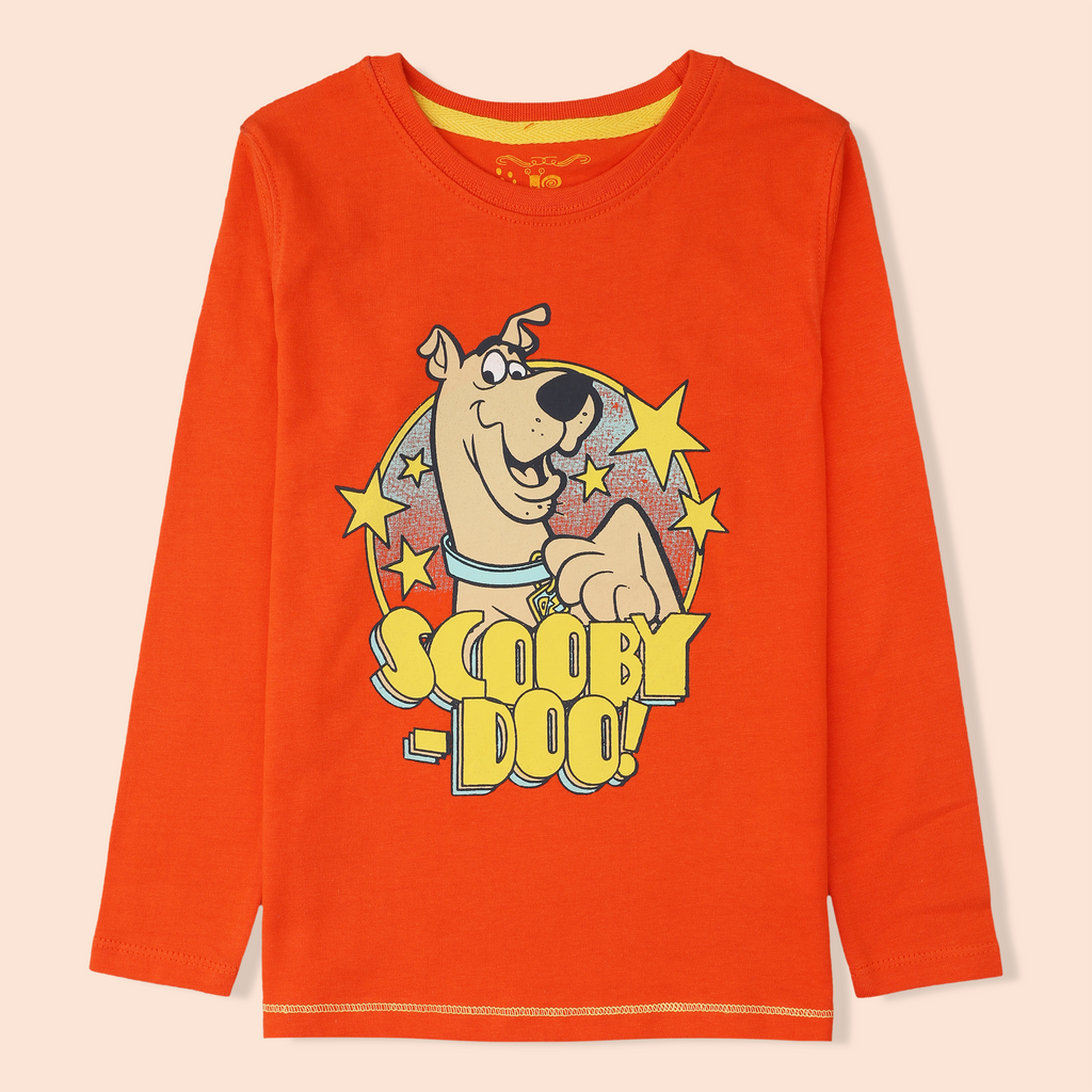Orange Scooby Shirt