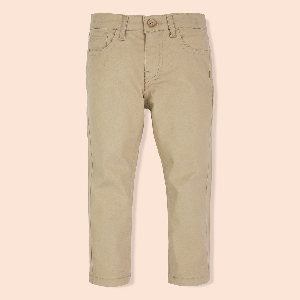 Tan Twill Pants