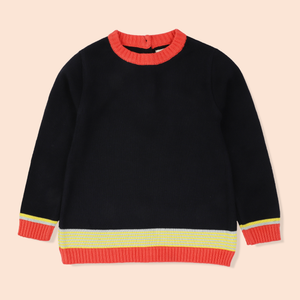 Yellow Stripe Sweater