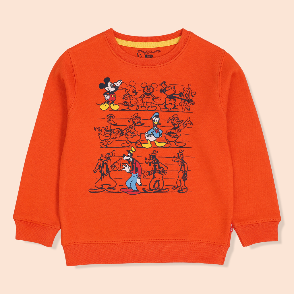 Orange Disney Sweatshirt