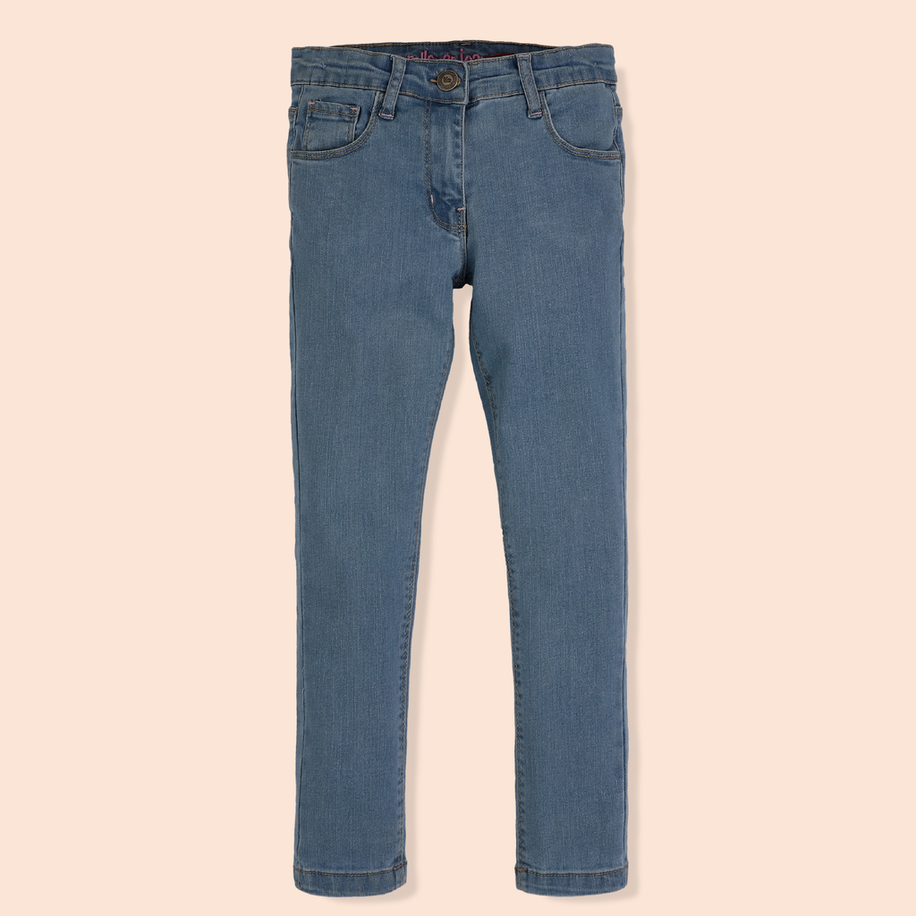 Girls Blue Denim Jeans