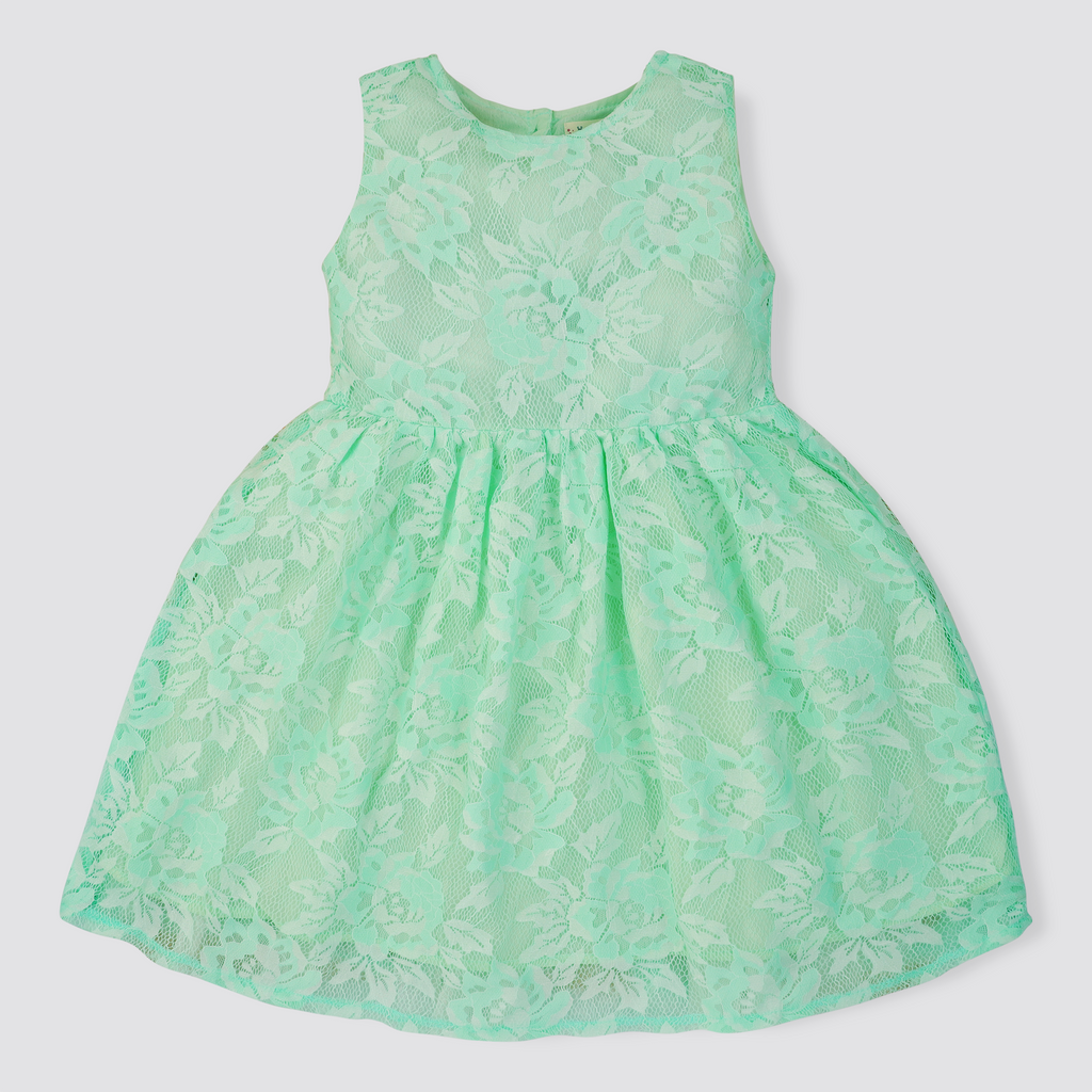 Mint Net Dress