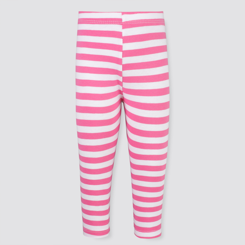 Pink Stripy Tights