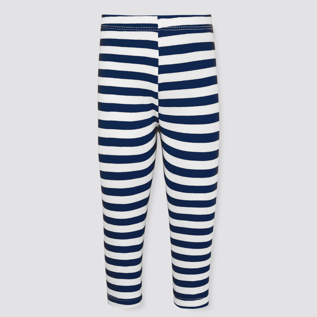 Navy Stripy Tights