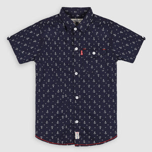 Dark Blue Anchor Shirt