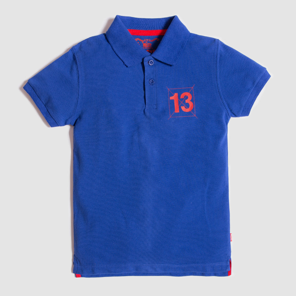 Solid Royal Polo