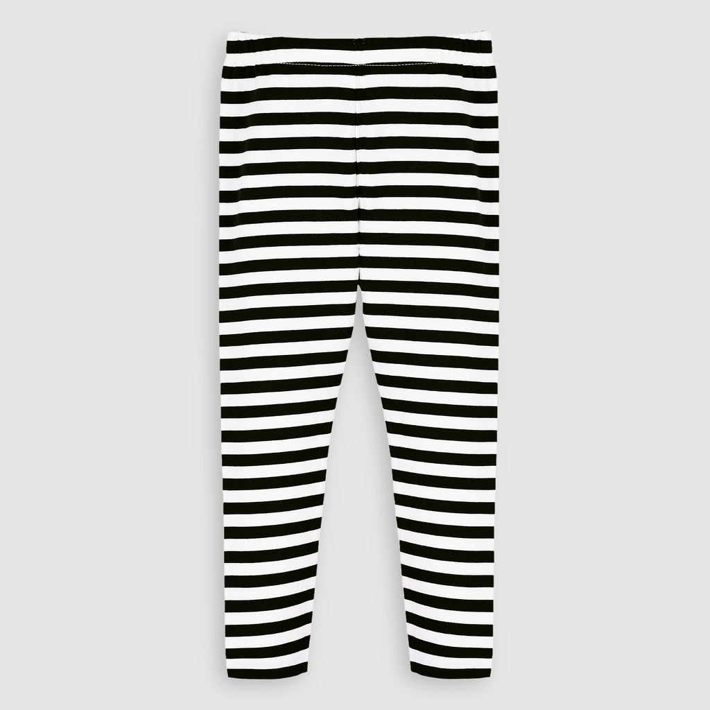 Navy Zebra Tights