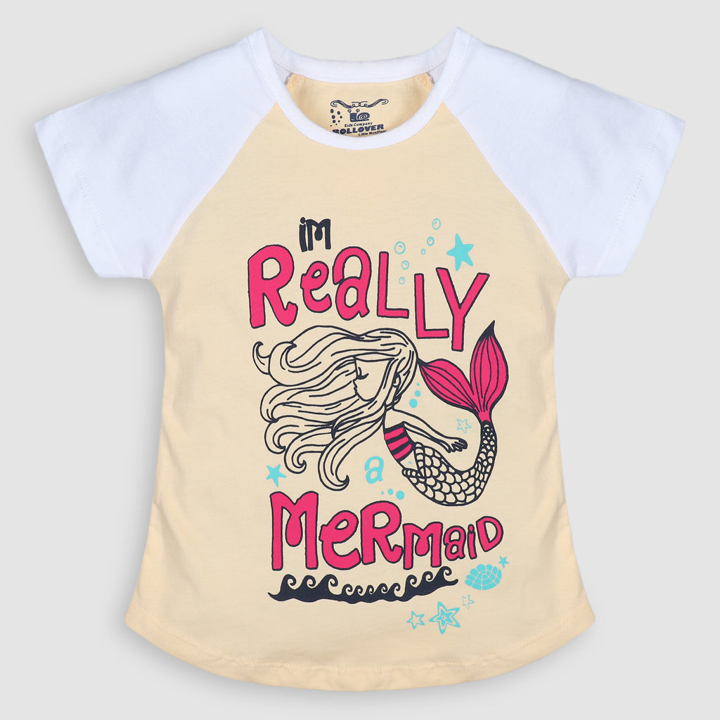 White Mermaid T-Shirt