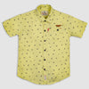 Yellow Cam Printed Shirt