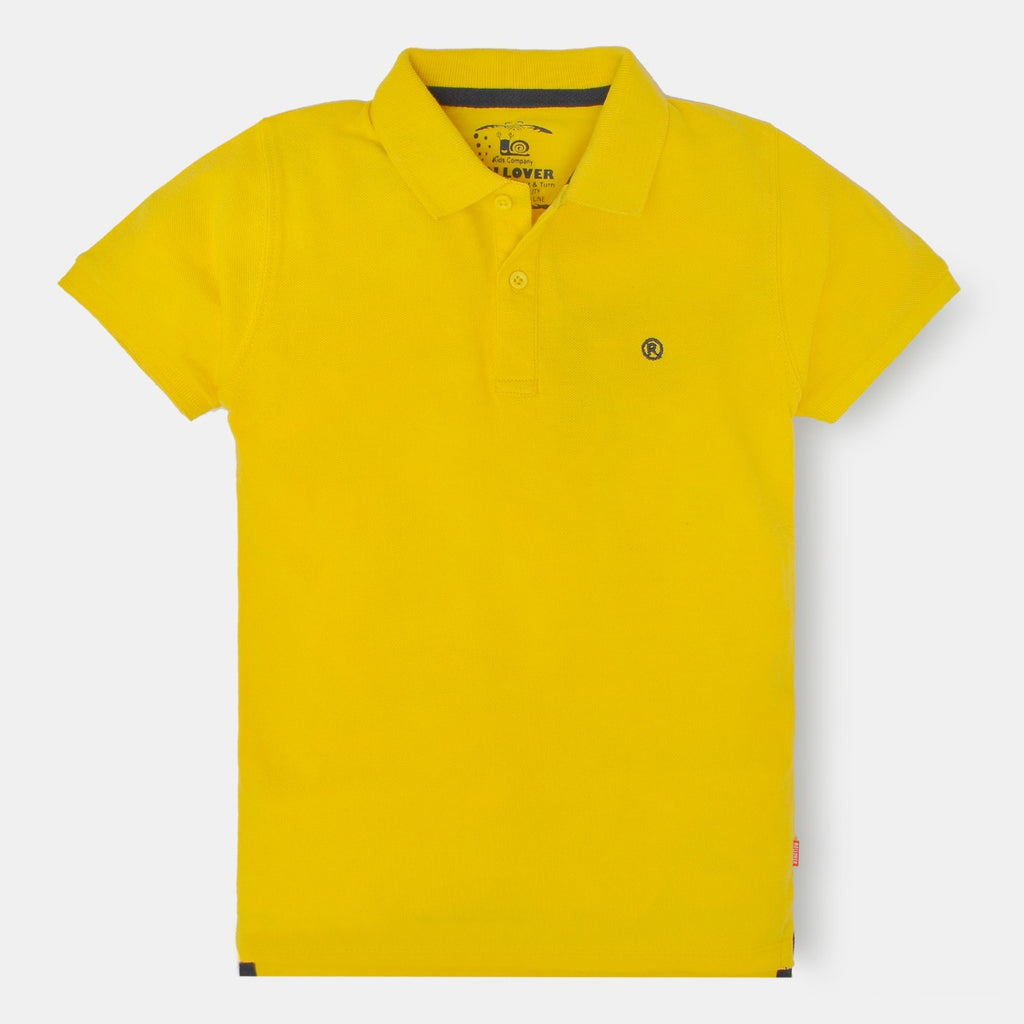 Yellow Boys Polo