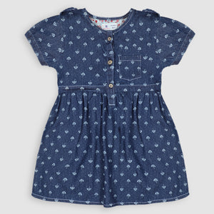 Umbrella Denim Frock