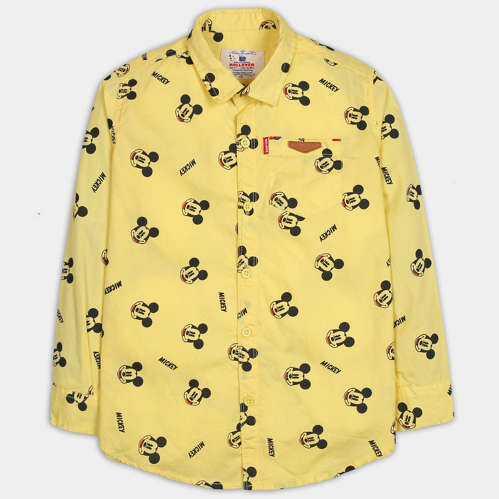 Yellow Mickey Shirt