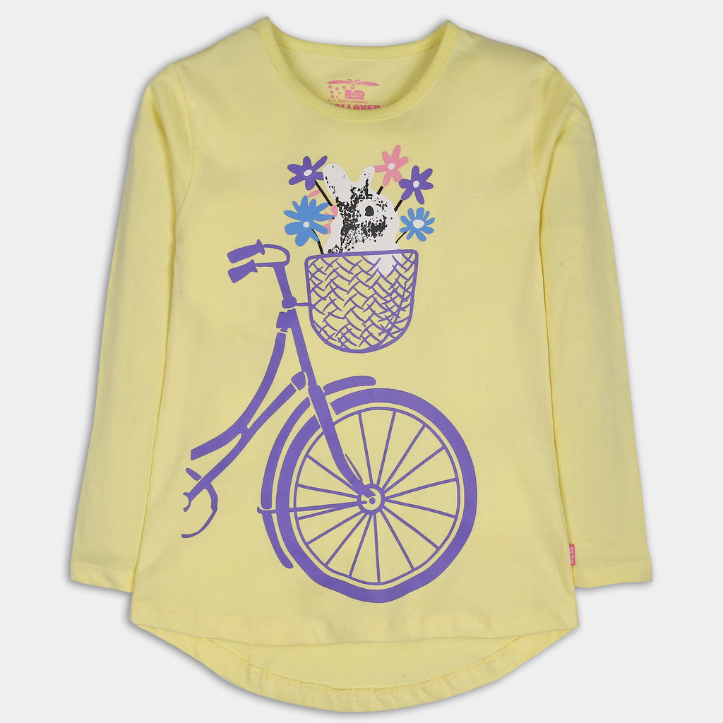 Yellow Biker T-Shirt